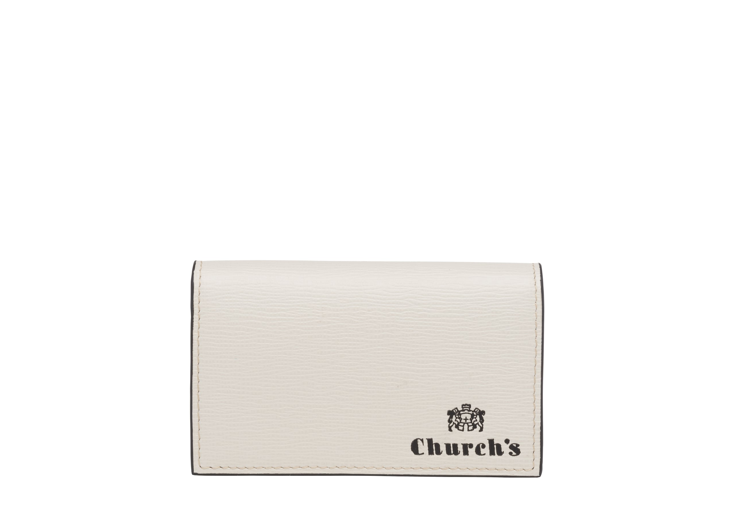 Card & coin holder Church's St James Leather Coin Holder Neutral