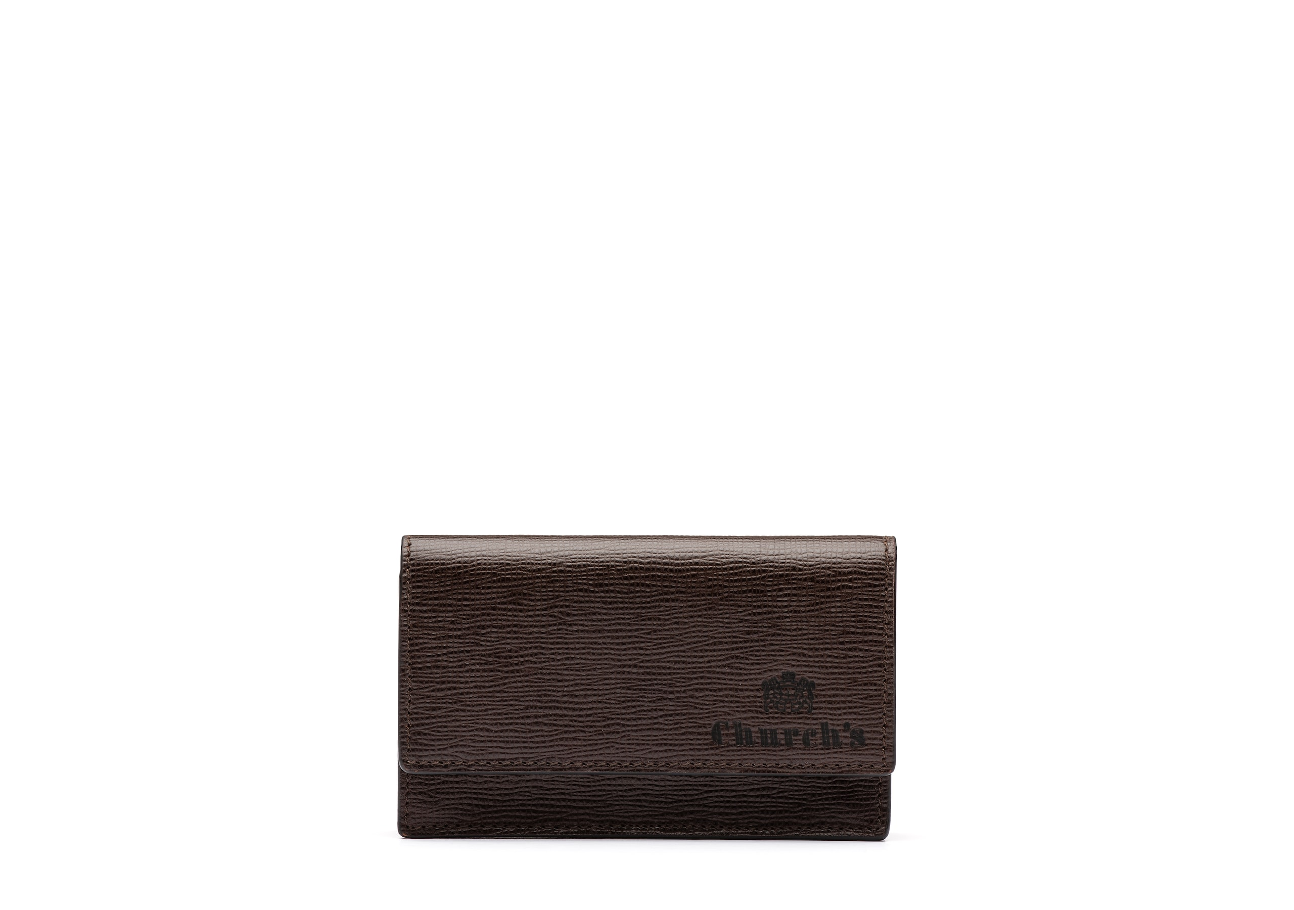 Card case Church's St James Leather Coin Holder Brown