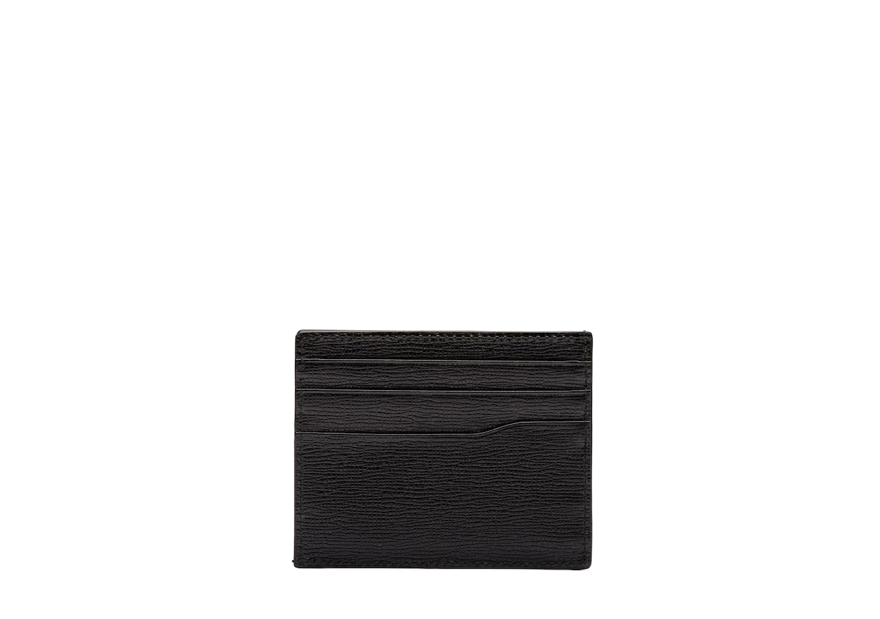 Card holder Church's St James Leather 6 Card Holder Black