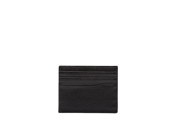 Church's true St James Leather 6 Card Holder Black