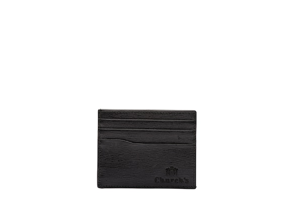 Church's true Porte-cartes 6 cartes en cuir St. James Noir
