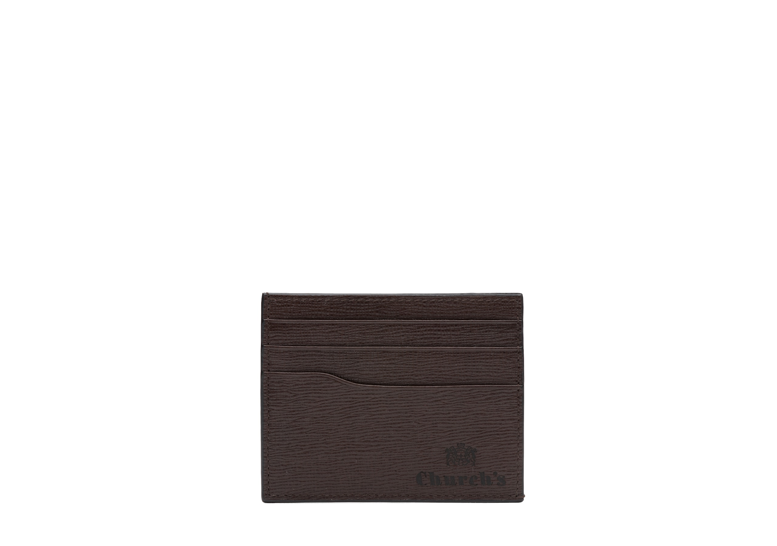 Card holder Church's St James Leather 6 Card Holder Brown