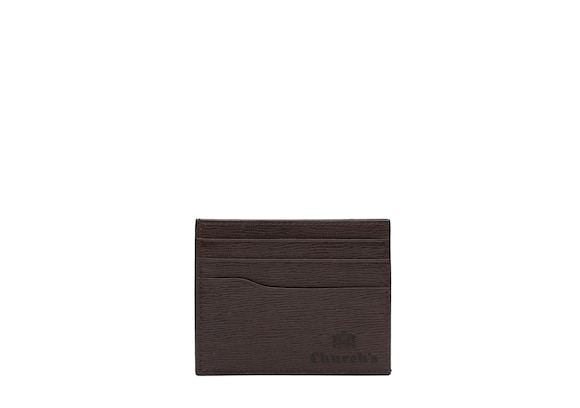 Church's true St James Leather 6 Card Holder Coffee
