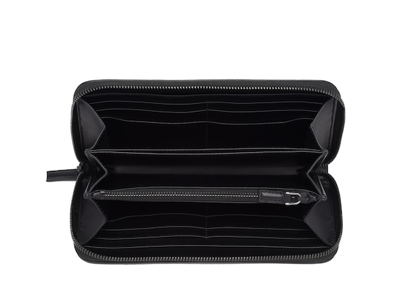 Church's true St James Leather Continental Wallet Black