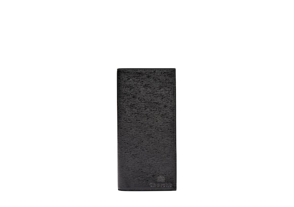 Church's Coat wallet Portefeuille allongé en cuir St. James Noir