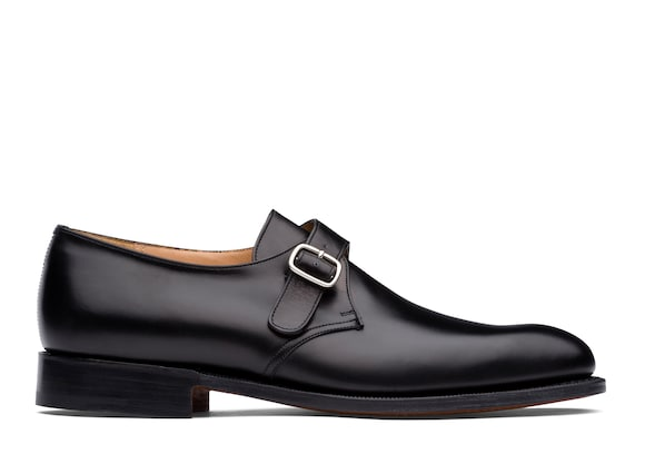 Church's true Calf Leather Monk Strap Black
