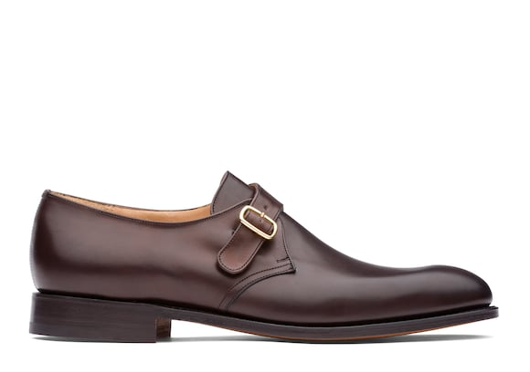 Church's Becket Nevada Leather Monk Strap Ebony