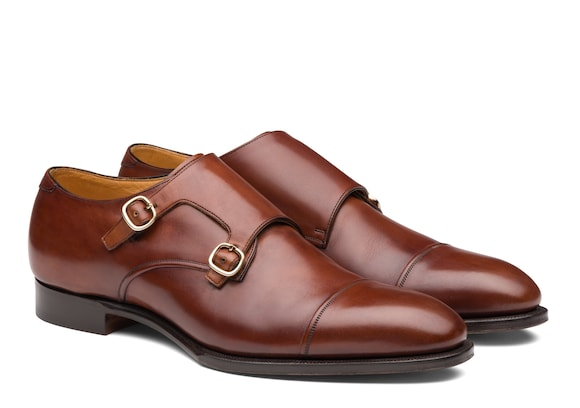 Church's Coleridge Doha Leather Monk Strap Brown