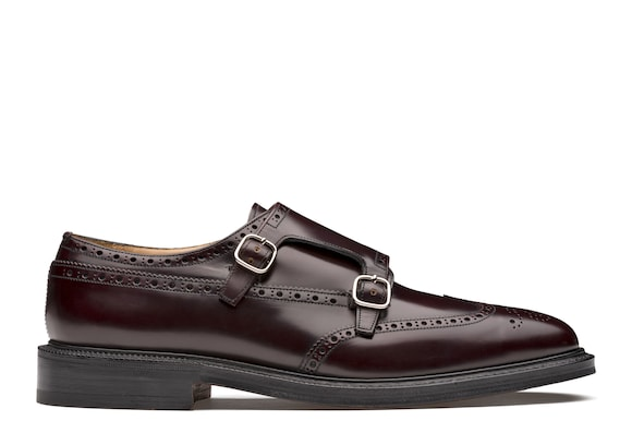 Church's  Polished Binder Monk Strap Burgundy