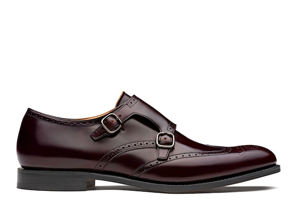 Church's Chicago Polished Binder Monk Brogue Burgundy