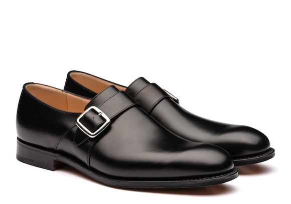 Church's Westbury Polished Binder Monk Strap Black