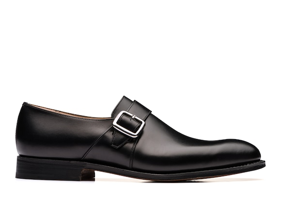 Church's Westbury 173 Calf Leather Monk Strap Black
