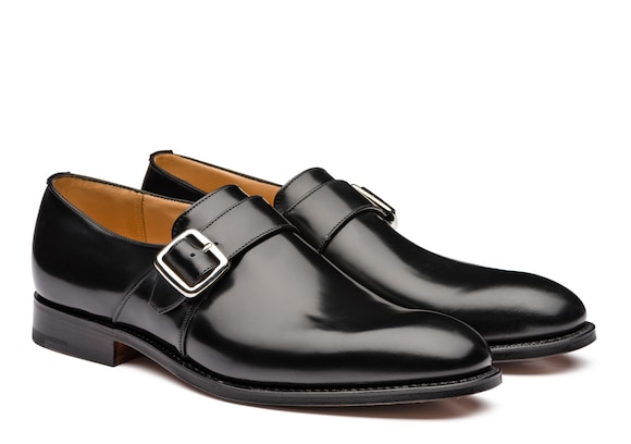 Church's Westbury 173 Polished Binder Monk Strap Black
