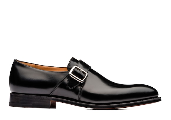Church's true Polished Binder Monk Strap Black