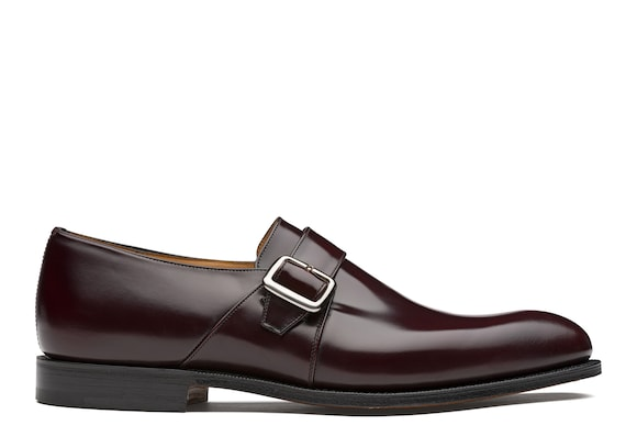 Church's true Calf Leather Monk Strap Burgundy