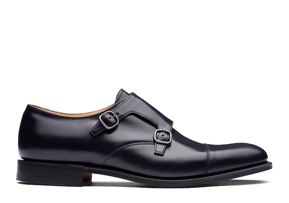 Church's true Polished Binder Monk Strap Blue