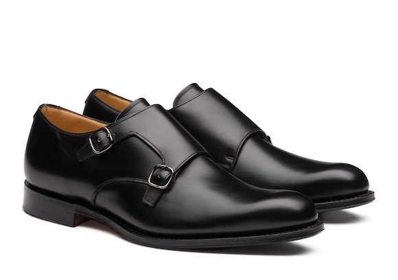 Church's  Calf Leather Monk Strap Black