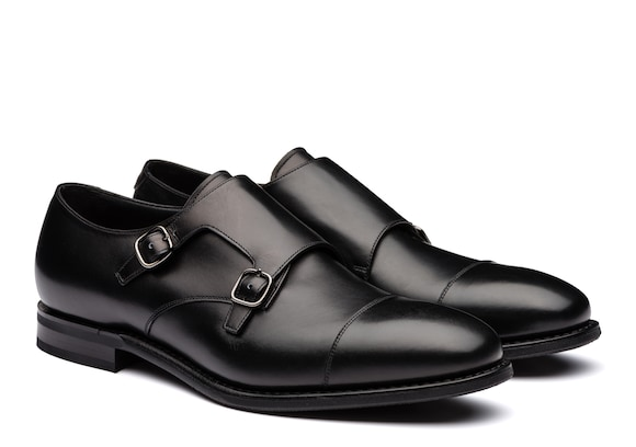 Church's Saltby Calf Leather Monk Strap Black