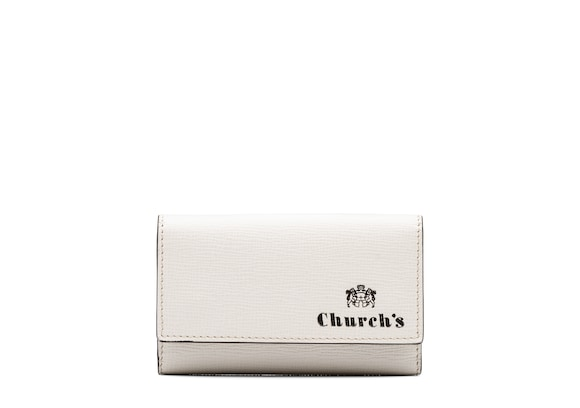 Church's Key holder St James Leather Key Holder Chalk white