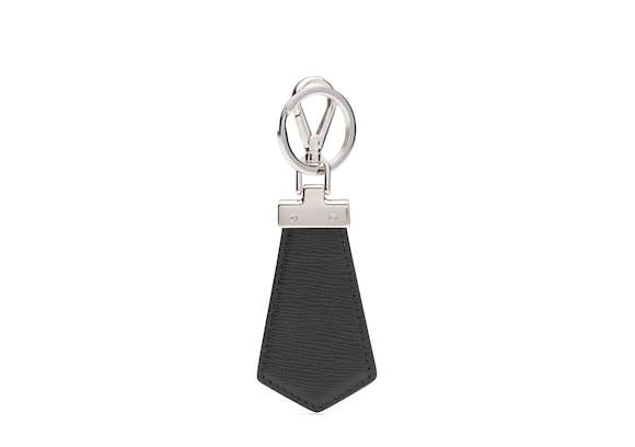 Church's true St James Leather Keyring Black