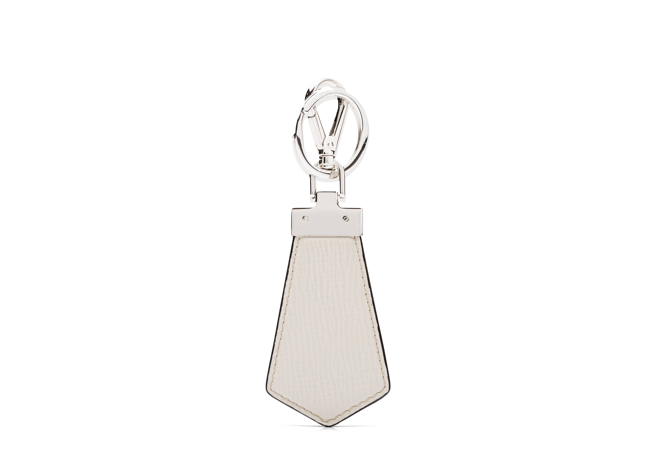 Tab keyring Church's St James Leather Keyring Neutral