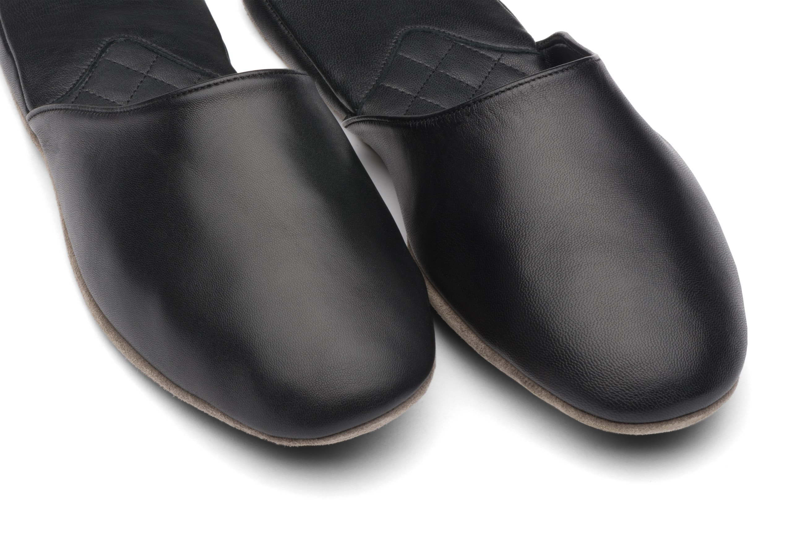 Air travel Church's Nappa Leather Slipper Black