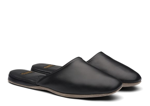 Church's Air travel 03 Nappa Leather Slipper Black