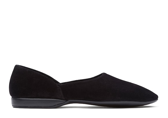 Church's true Suede Grecian Slipper Black