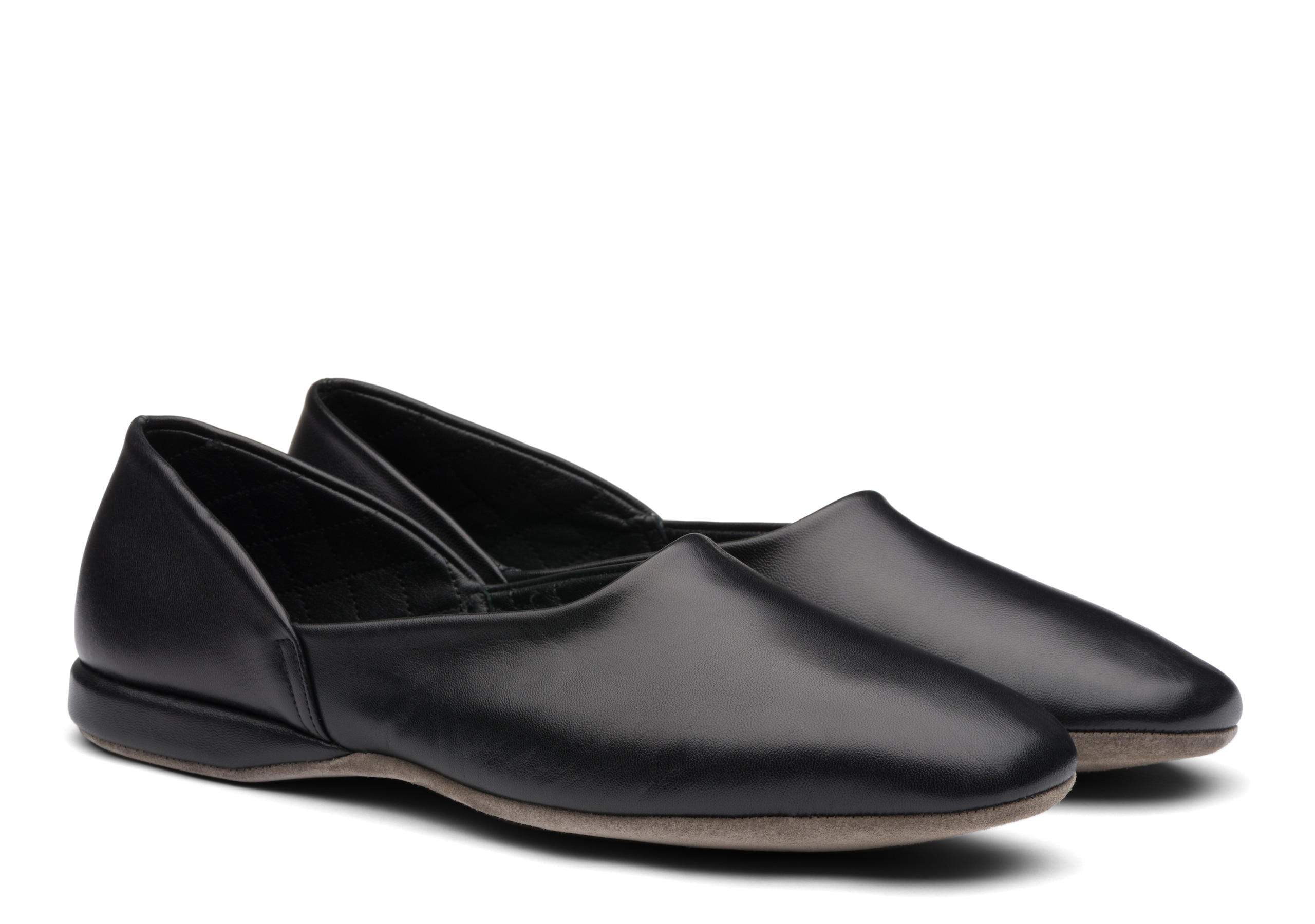 Jason 03 Church's Nappa Leather Grecian Slipper Black