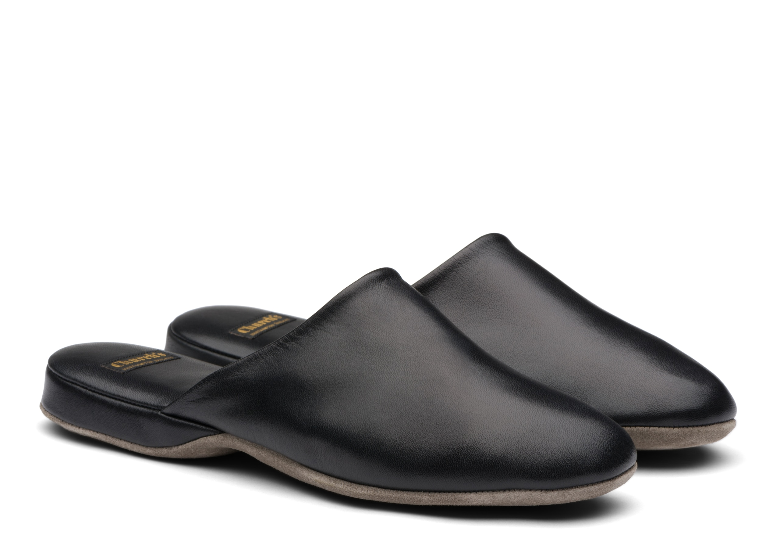 Arran 03 Church's Nappa Leather Slipper Black