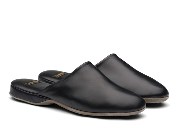 Church's  Nappa Leather Slipper Black