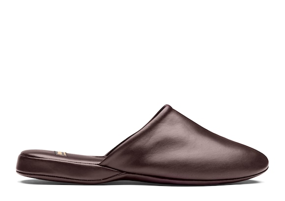 Church's  Nappa Leather Slipper Bordeaux