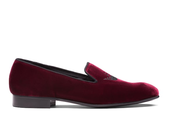 Church's true Velvet Crown Loafer