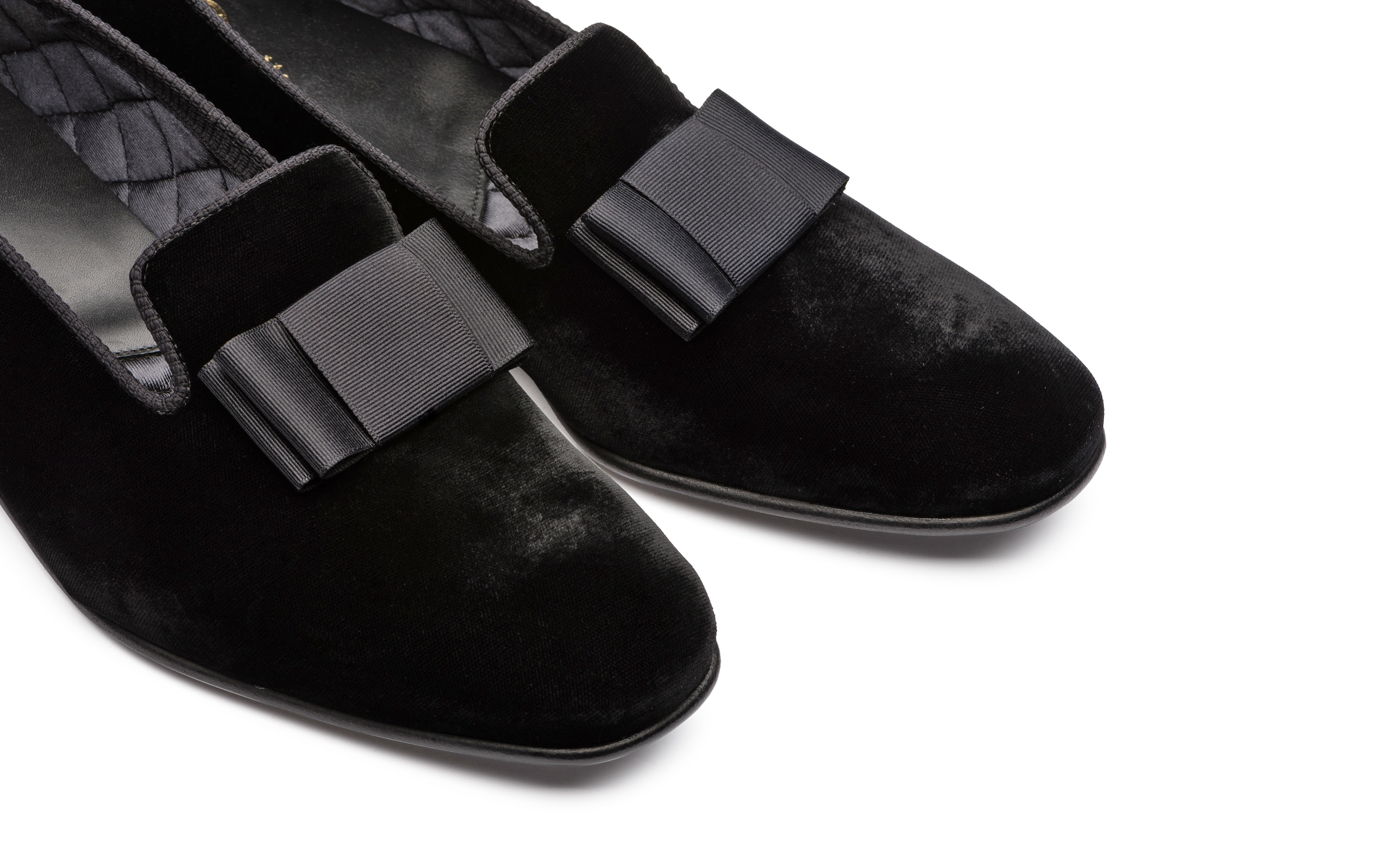 Witham Church's Velvet Loafer Black