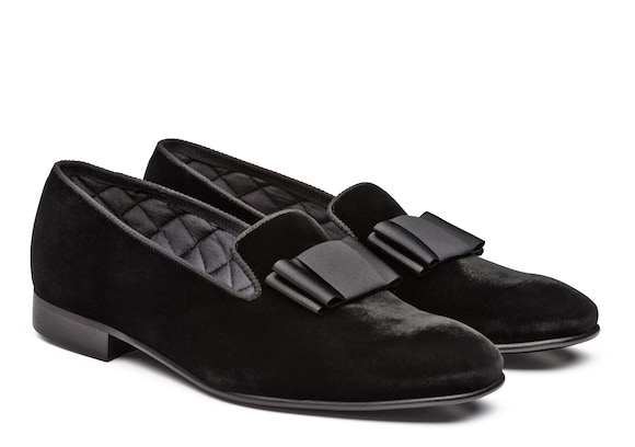Church's Witham Velvet Loafer Black