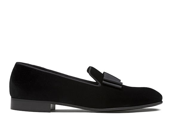 Church's true Velvet Loafer Black
