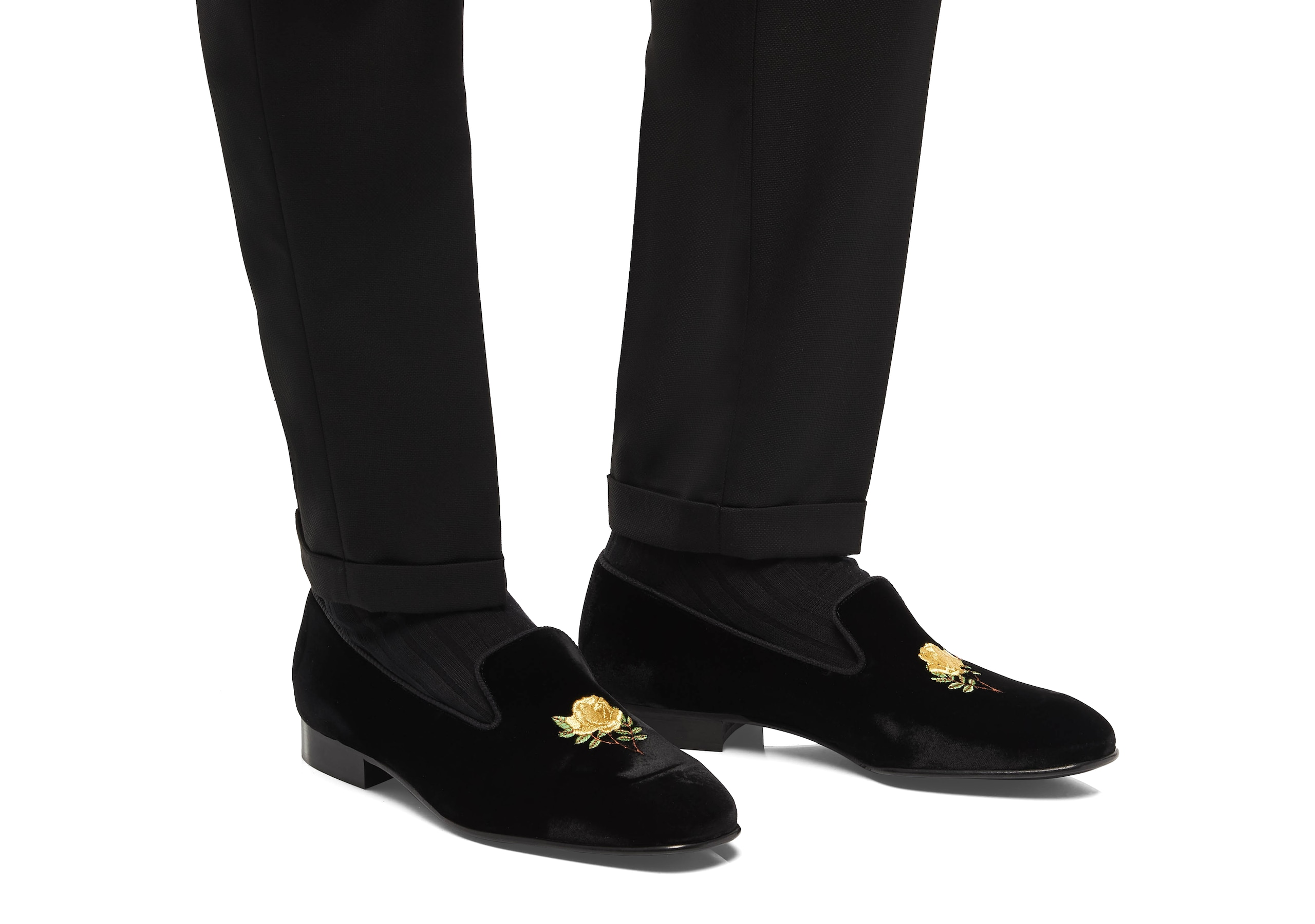 Sovereign rose 2 Church's Velvet Rose Loafer Black Black