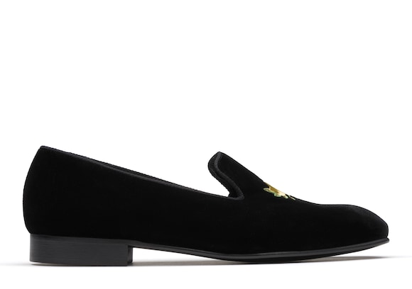 Velvet Rose Loafer Black