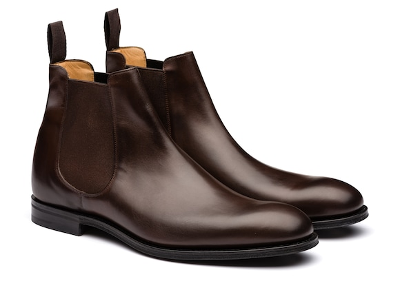 Church's  Nevada Leather Chelsea Boot Ebony