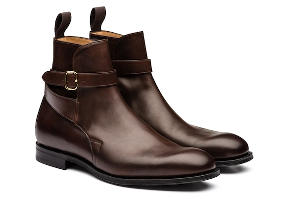 Church's  Nevada Leather Strap Boot Ebony