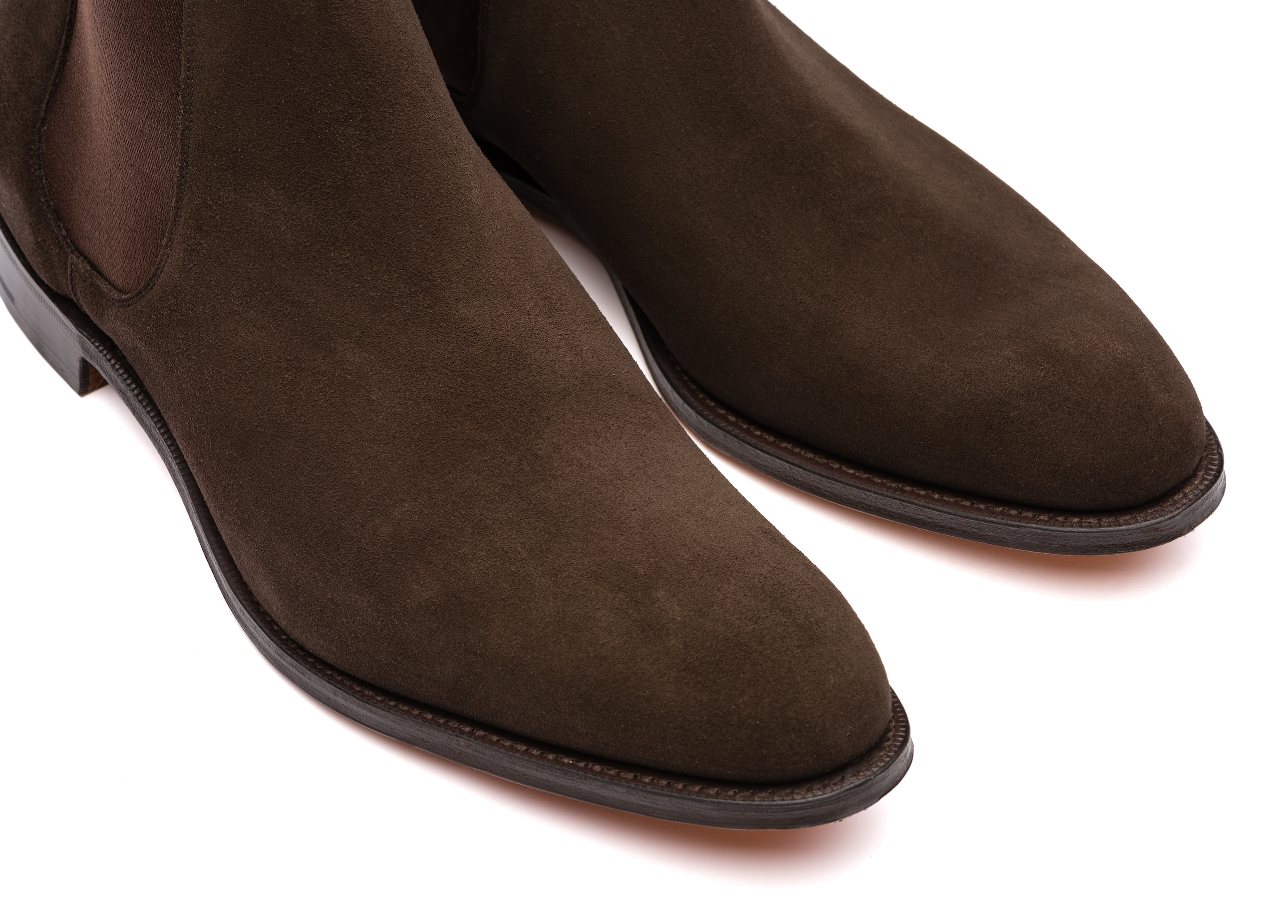 Houston Church's Superbuck Chelsea Boot Brown