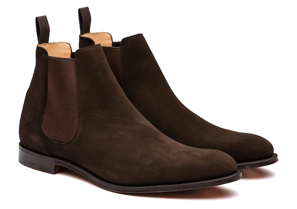 Church's true Superbuck Chelsea Boot Ebony