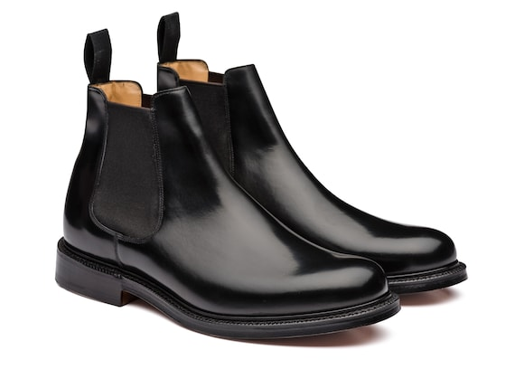 Church's true Polished Binder Chelsea Boot Black