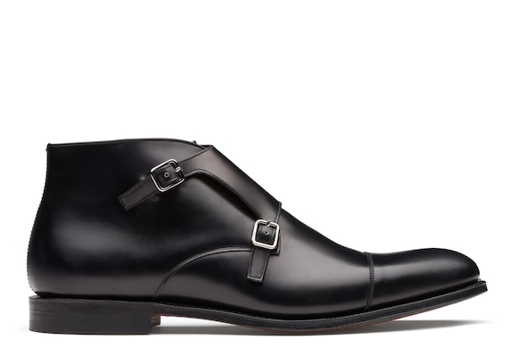 Church's Barcelona Monk Strap in Pelle di Vitello Nero