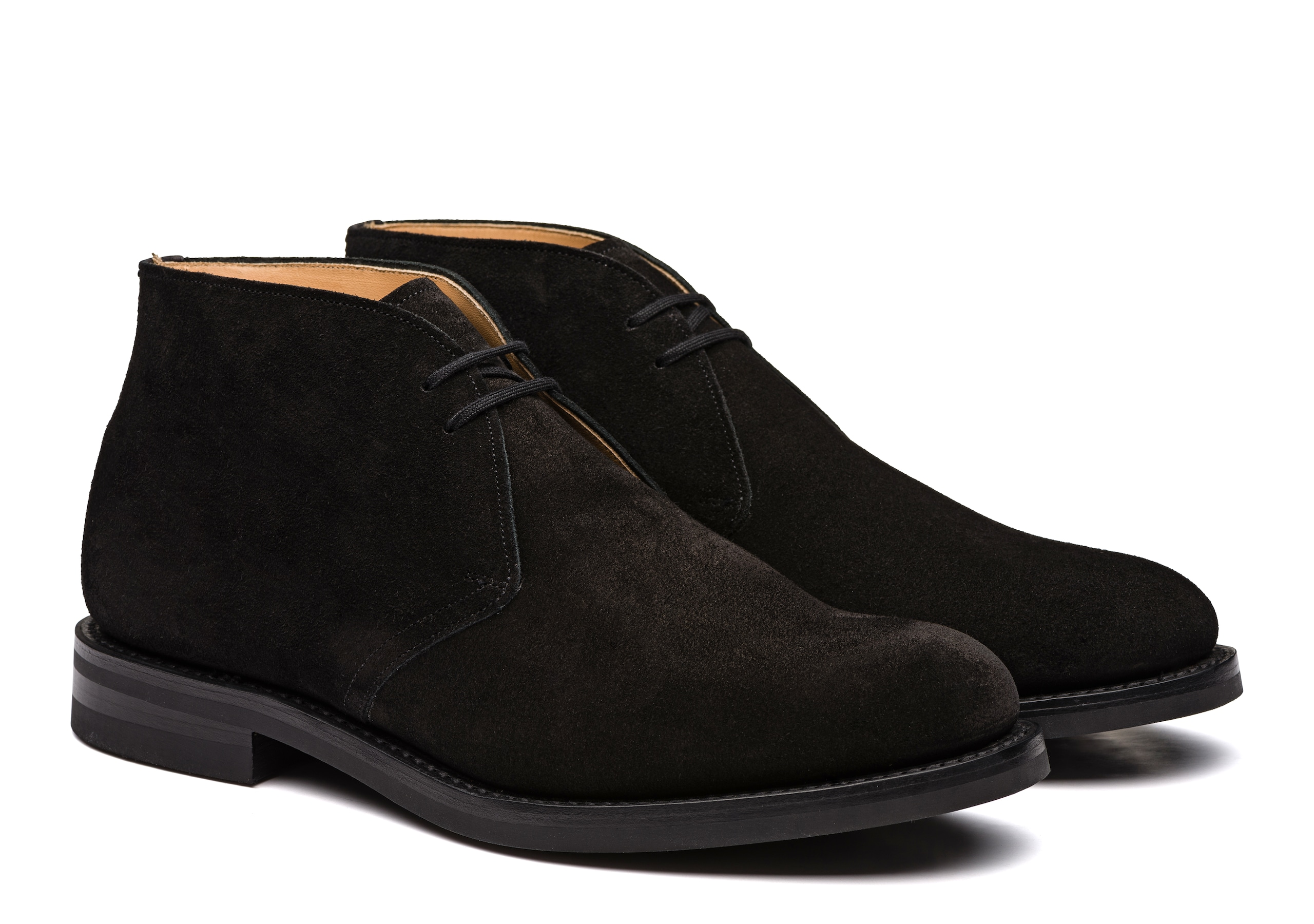Ryder 3 Church's Suede Desert Boot Black