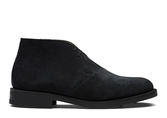 Church's true Desert Boot en Veau Velours Bleu