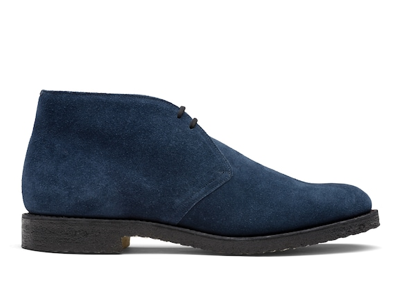 Church's true Suede Desert Boot Blue