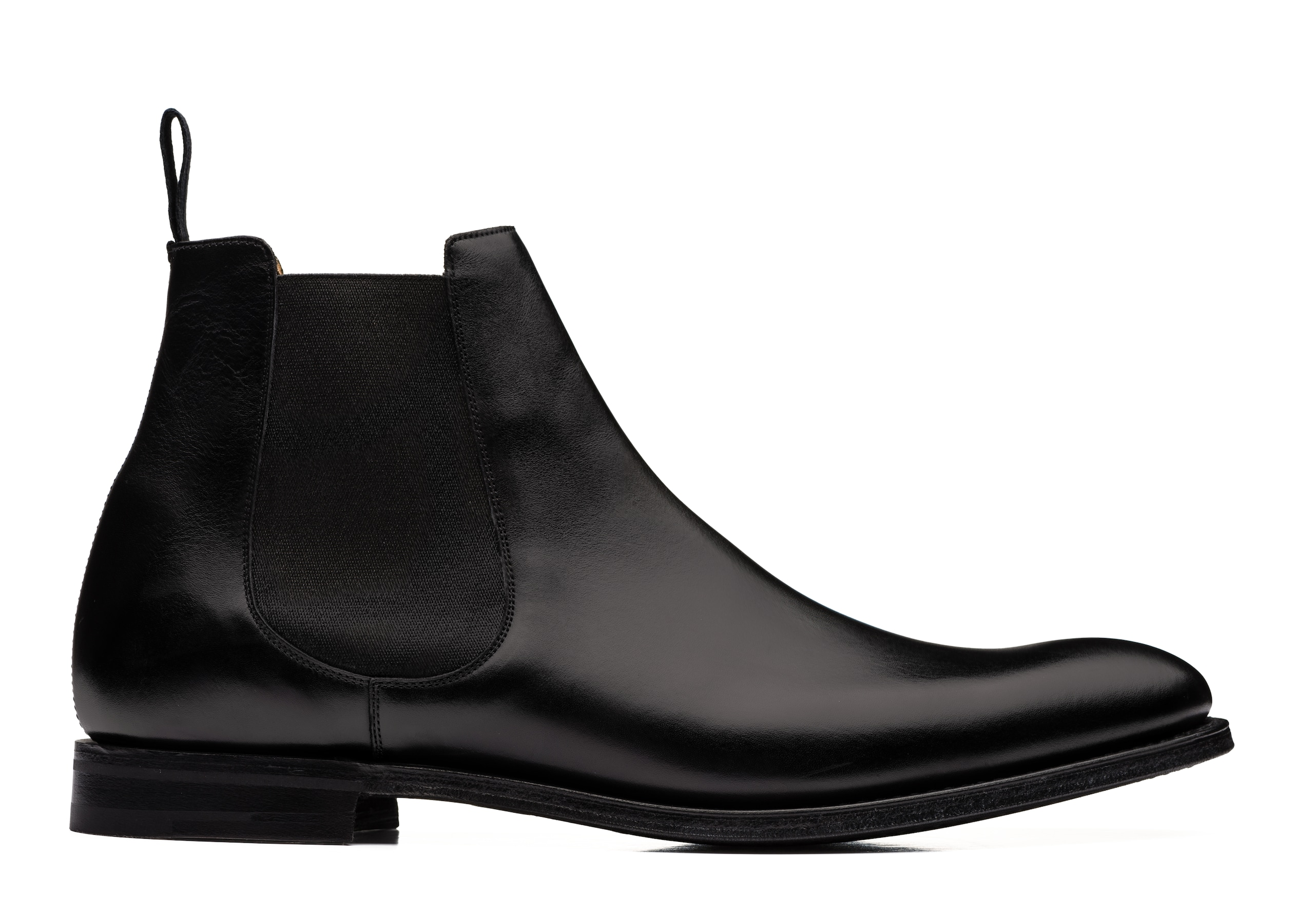 Houston r Church's Calf Leather Chelsea Boot Black