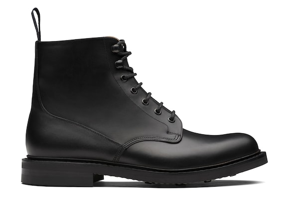 Calf Leather Lace-Up Boot
