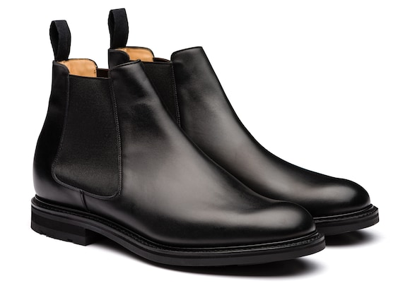 Church's Welwyn Calf Leather Chelsea Boot Black
